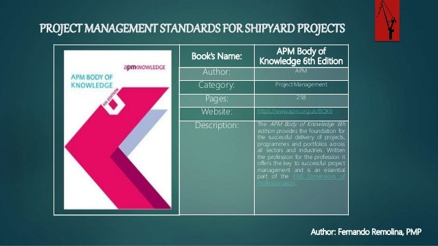 project management standards Use our ipma project excellence baseline® (ipma peb), to assess and improve the quality of your project or programme management find out in which project management areas to improve your activities, and enter our yearly competition for best project of the world, to learn from and meet the best.