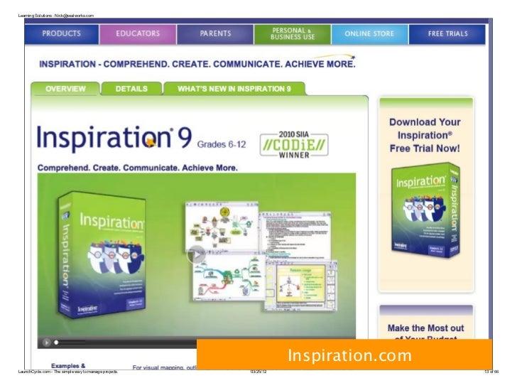Learning Solutions : Nick@sealworks.com                                                                  Inspiration.comLa...