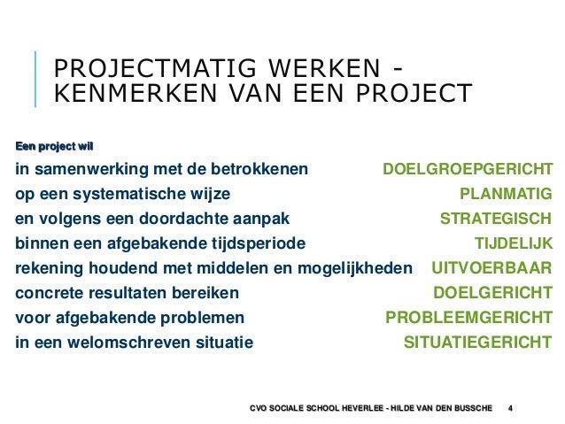 plan van aanpak projectmatig werken Projectmatig werken plan van aanpak projectmatig werken