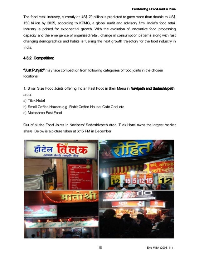 Fast Food Restaurant Business Plan – How To Start, Profits & Opportunities in India