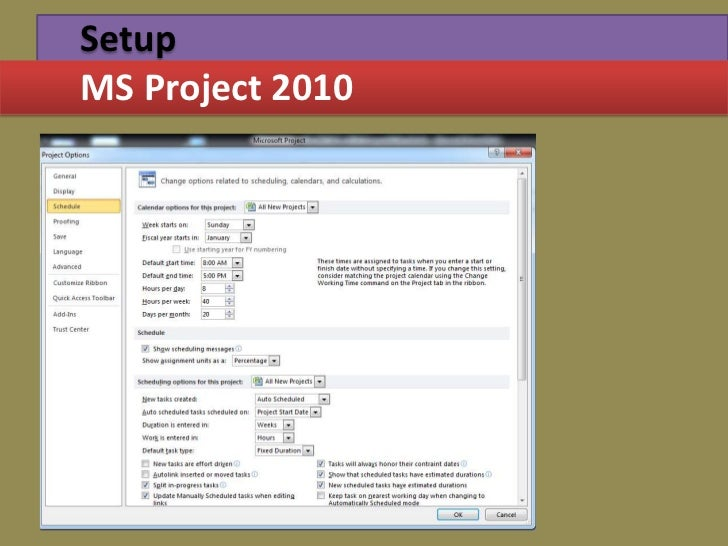 Project management through gantt pert chart setupms project 2010 ccuart Gallery