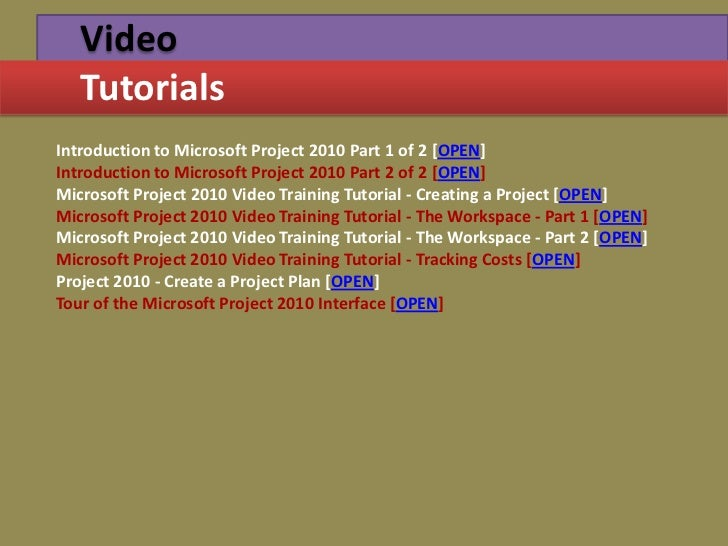 Project management through gantt pert chart creatingsummary tasks 37 video tutorialsintroduction to microsoft project 2010 ccuart Gallery