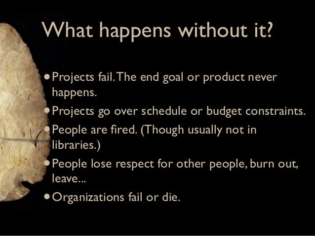 Project Management Slide 3