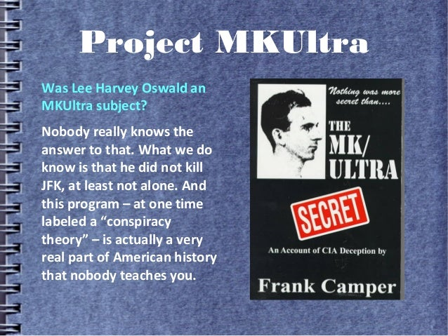 Cocktails With the CIA, Episode 7: Project MKUltra