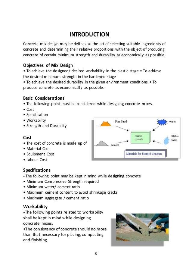 Concrete Mix Ratio For Patio Slabs: Concrete Mix Design Software Free Download
