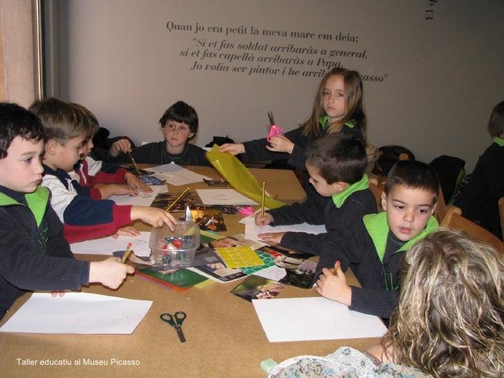 Taller educatiu al Museu Picasso