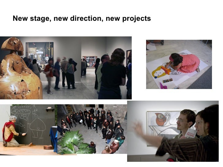 New stage, new direction, new projects