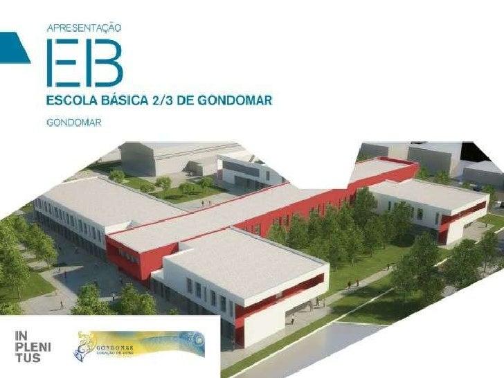 Projecto da nova Escola EB23 Gondomar
