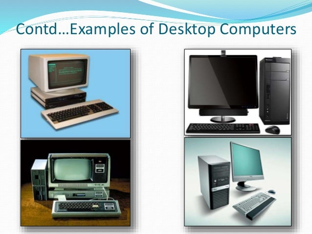examples of laptop computers