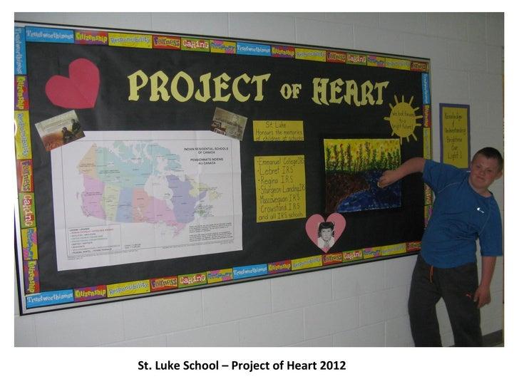 St. Luke School – Project of Heart 2012