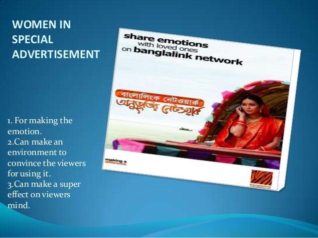 Representation of Women In Advertisement