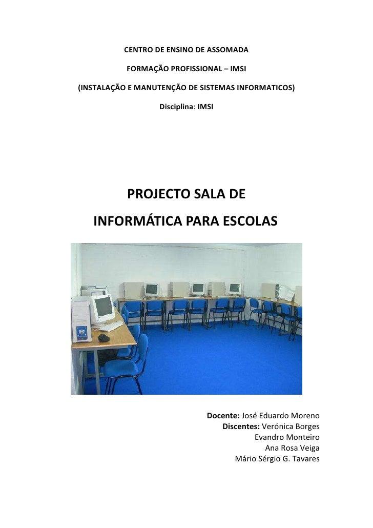 Projecto manutenção