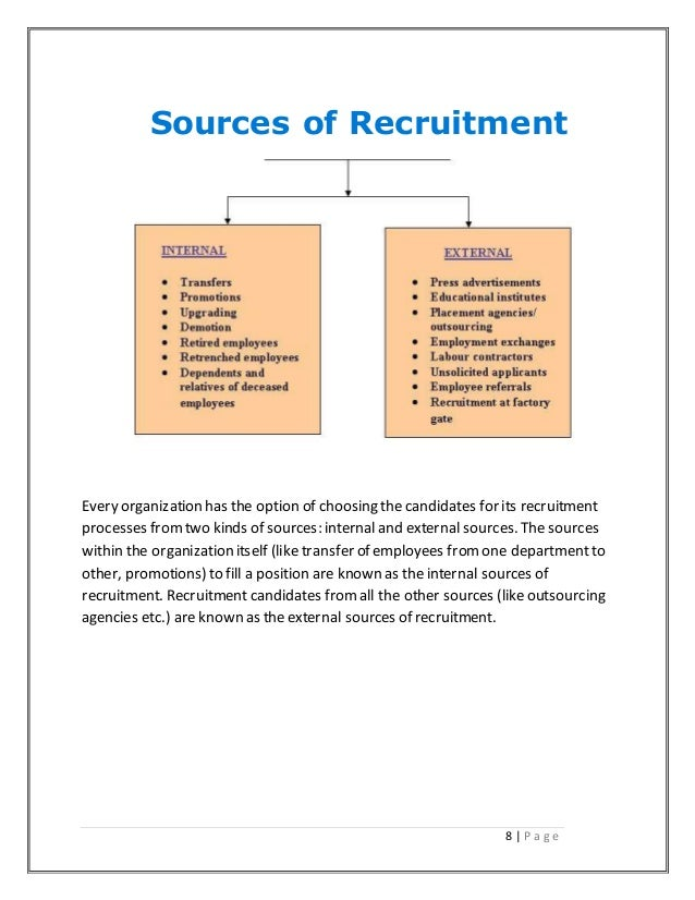 literature review on effectiveness of recruitment and selection E-recruitment: the effectiveness of  therefore it is not the most effective recruitment source  literature this will be followed by a review of the research.