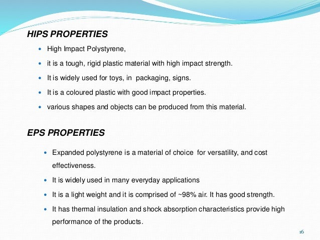 Physical Properties Of Polystyrene