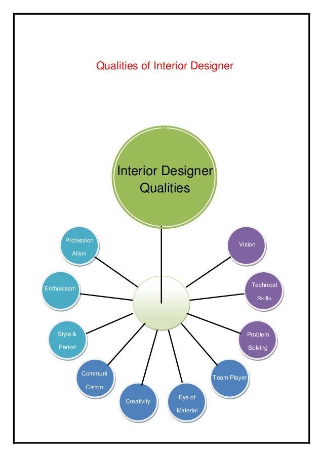 Qualities Of Interior Designer