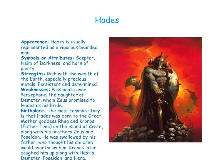 Hades Symbols And Appearance What Is The Symbol For Hades