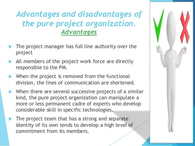 advantages disadvantages of project management In project management  advantages and disadvantages of peer to peer protocol why ring is better than mesh topology posted in business and finance 3 comments.