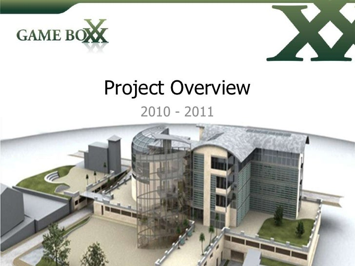 Project Overview<br />2010 - 2011<br />