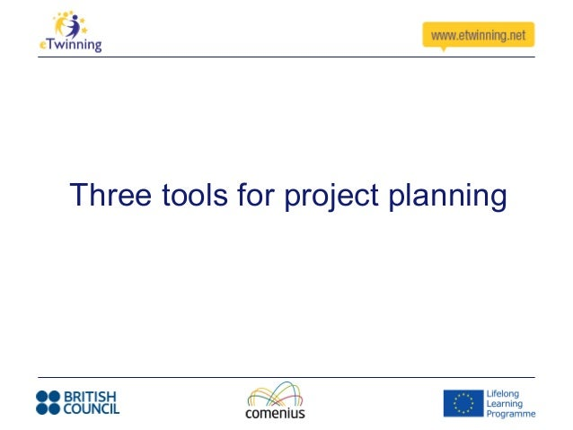 Three tools for project planning