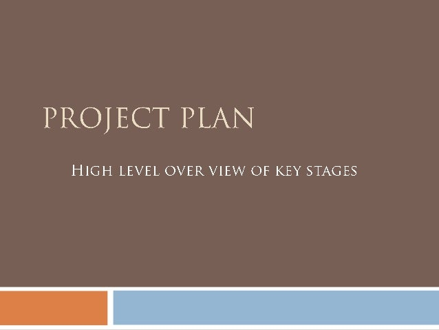 Project planning and overview template – Project Overview Template