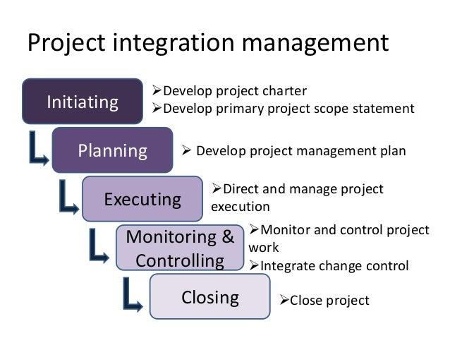 Project Integration Management ...
