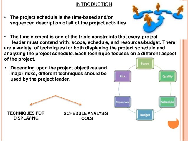 project planning and scheduling template