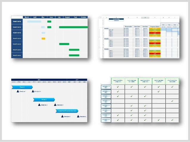 Project Plan Templates Project Timeline Templates - Project plan and timeline template