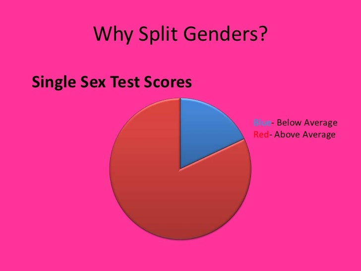 single gender classrooms cons