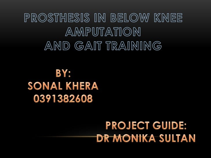 Prosthesis : it is             Amputation: it                                the device             is the removal        ...