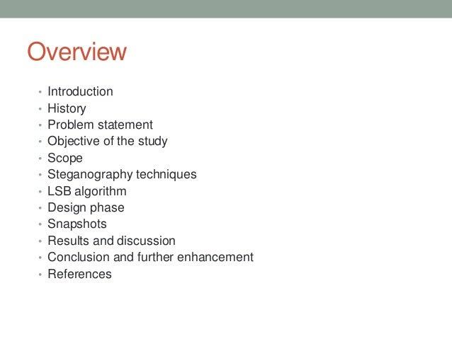 Steganography Project  Slide 2