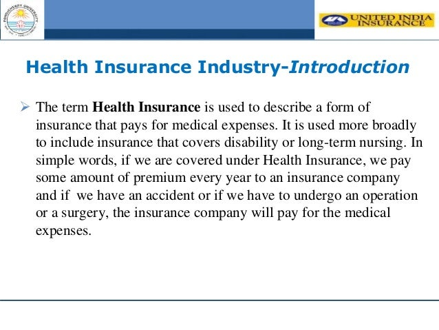 health insurance project pdf india