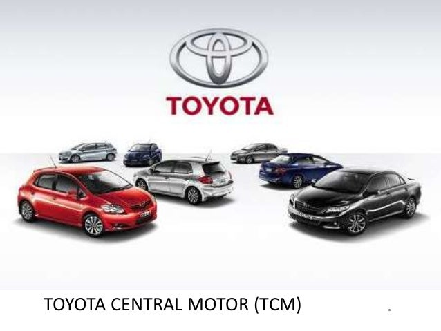 Project on toyota central motors ppt for Toyota motor credit address