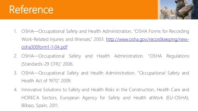 an analysis of the occupational safety and heath act of 1970 Federal employee occupational safety and health  congress established public law 91-596, the occupational safety and health act of 1970  workplace analysis,.