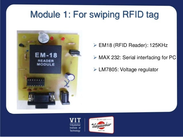 Year 2013-14 ]Group no ET-04 RFID based baggage anti-theft system in…
