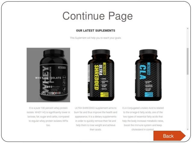 Continue Page Back