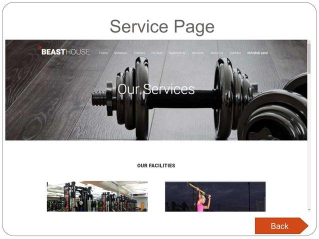 Service Page Back