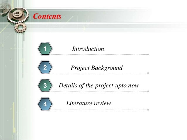 Project Review Ppt