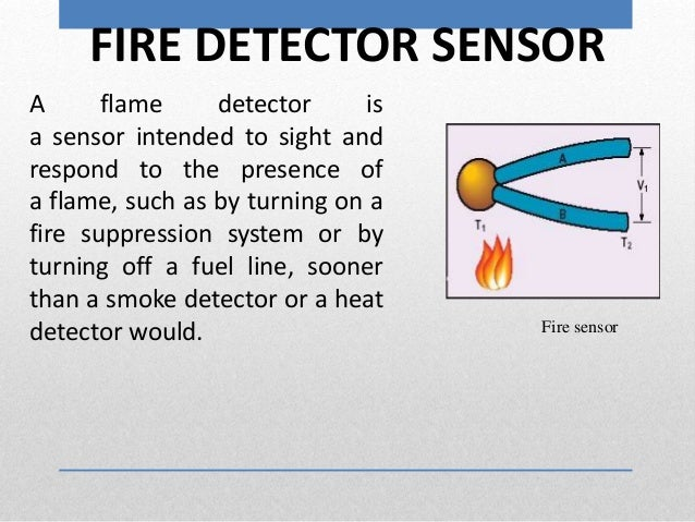 Temperature Humidity Controller With Fire Detector