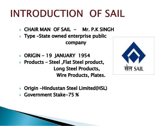 sail isteel authority of india Neutral steel authority of india (sail) ltd at a price target of rs 830 .