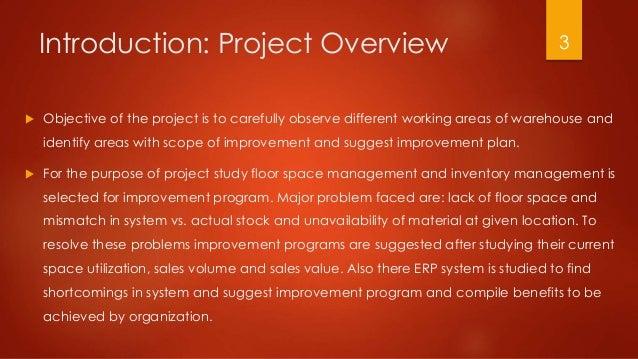 Space and Inventory Managemet Program at Panasonic India