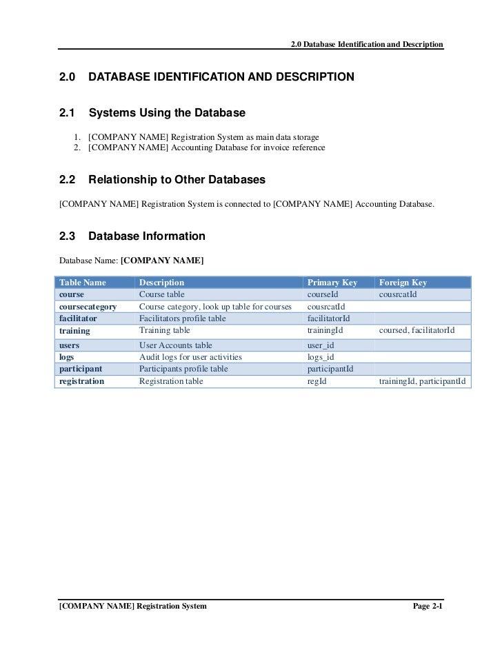 ... Registration System; 7.