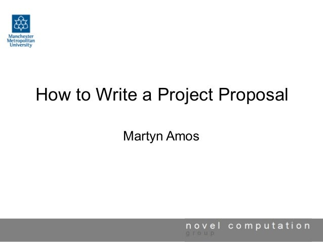 How To Write A Project Proposal 1 638gcb1455845347