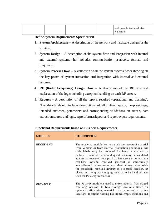 Project Proposal Sample Rfid On Warehouse Management System .  Project Management Proposal Template Free