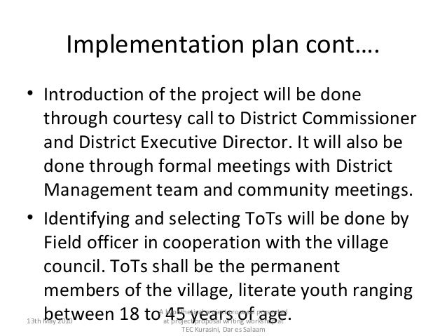 Sample of a community development project proposal writing 14 altavistaventures Image collections