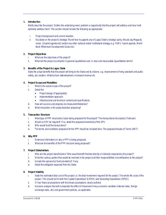 Project Proposals Template Project Program Proposal Format Download