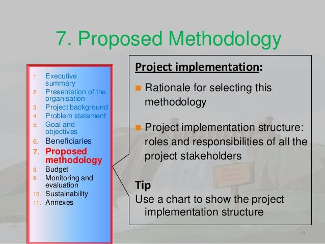 How to write objectives for a project