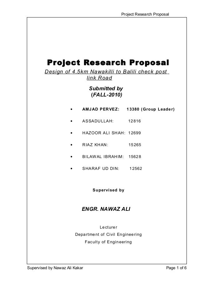 group project proposal A proposal is a request for financial assistance to implement a project the proposal outlines the plan of the implementing organisation about the project, giving.
