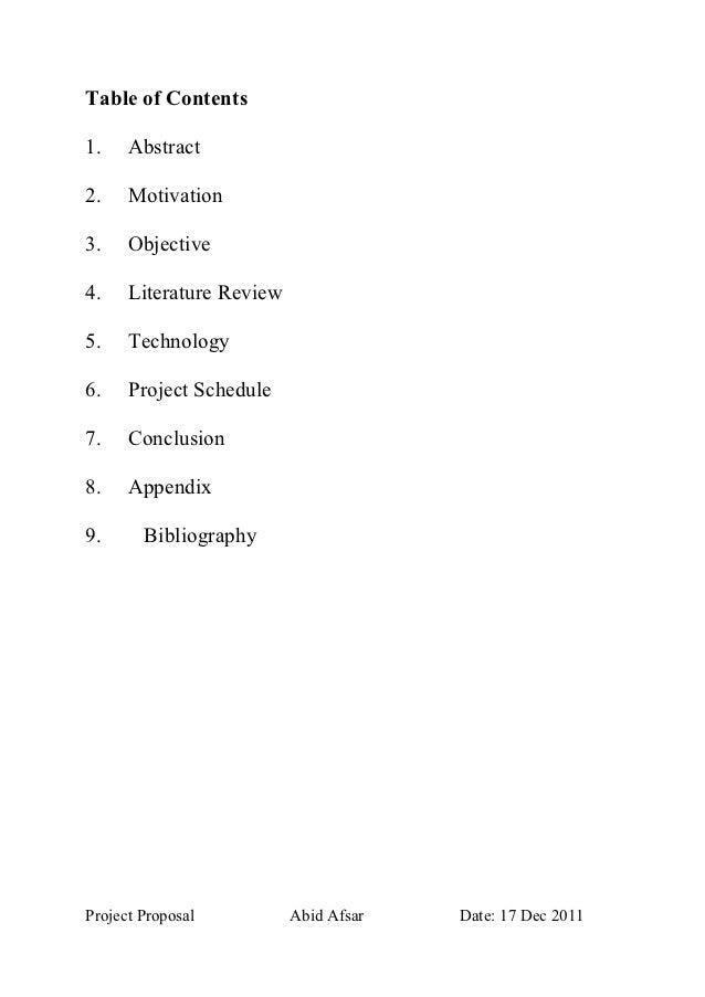 Project Proposel  Documentation Slide 2
