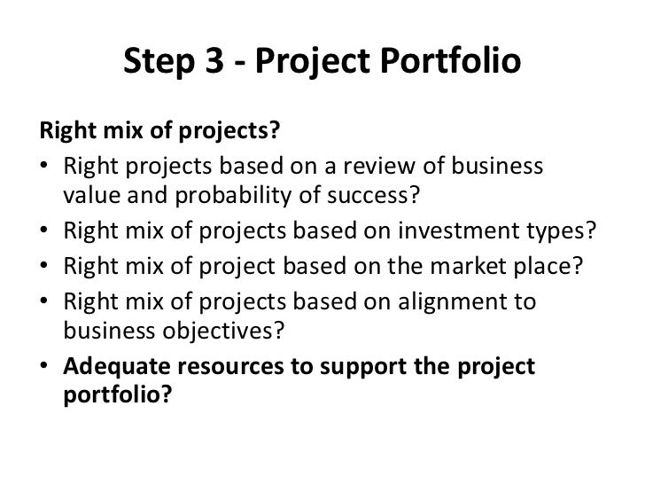 Project Ranking