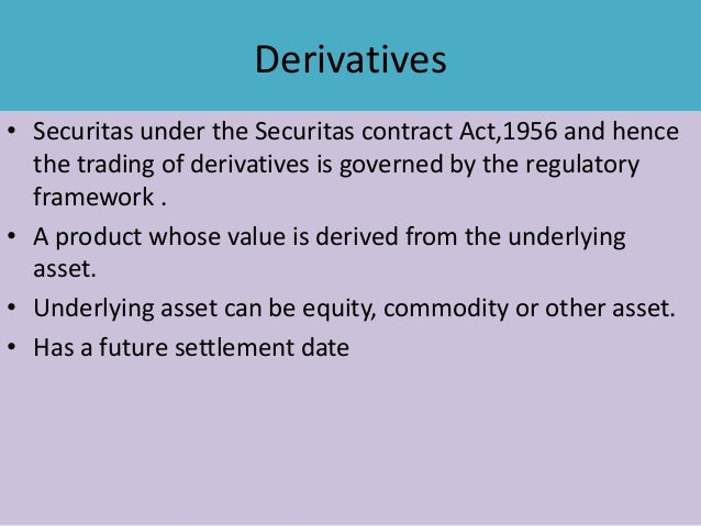 Derivatives Segments Of Nse And Bse | Autos Post